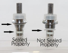 Why does my clearomizer leak?